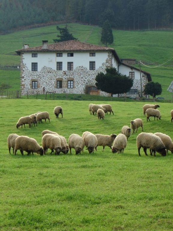 Basque Farmhouse in the atlantic valleys of Navarre