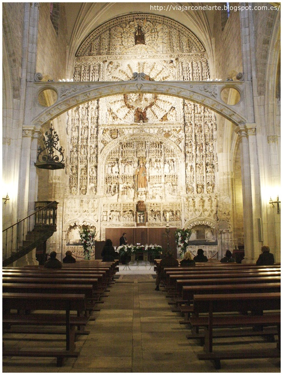 Interior iglesia S. Nicolás