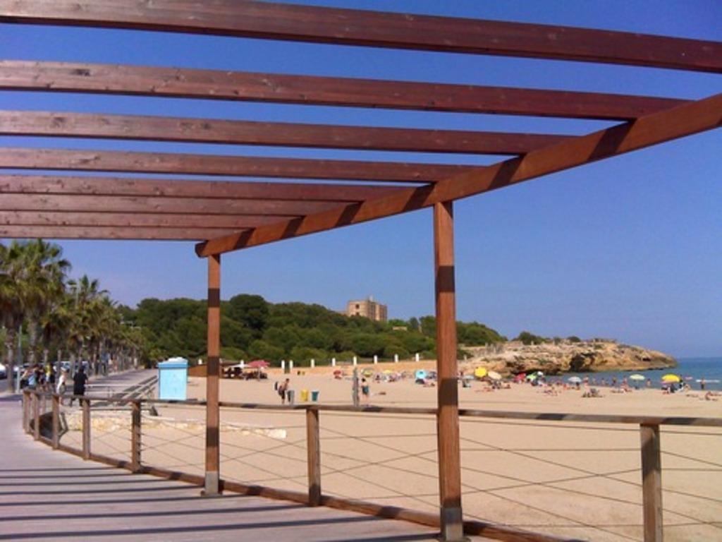Arrabassada beach, 5 minutes drive frome home