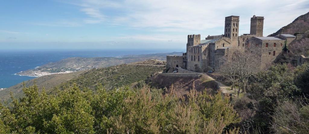 Sant Pere de Rodes. Costa Brava.