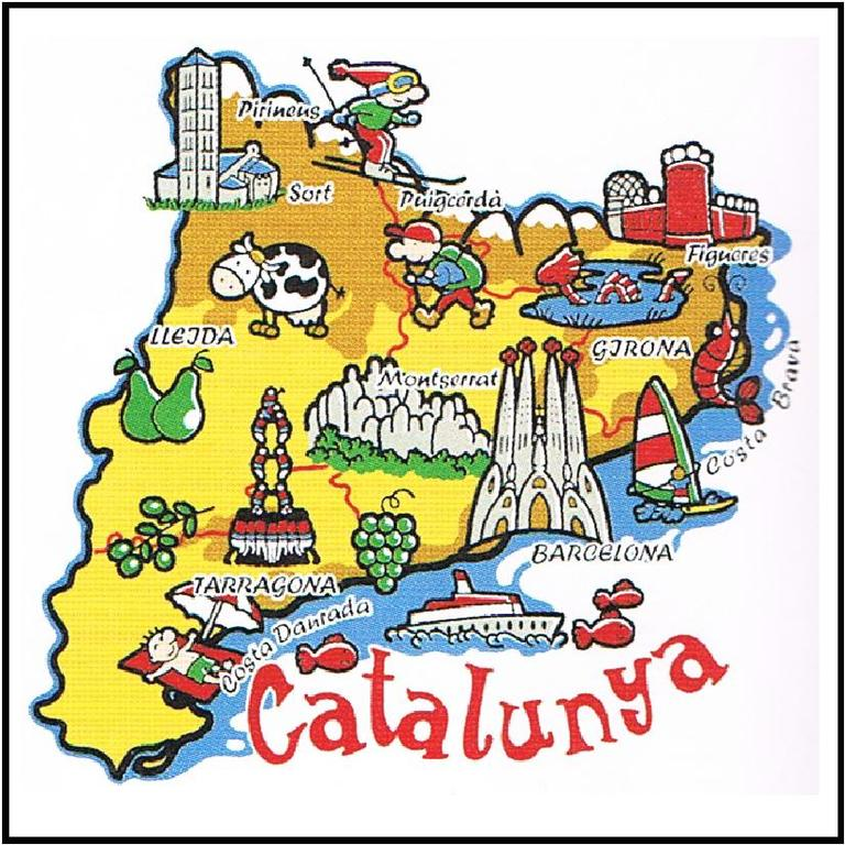 Catalunya, every place is very close to Barcelona