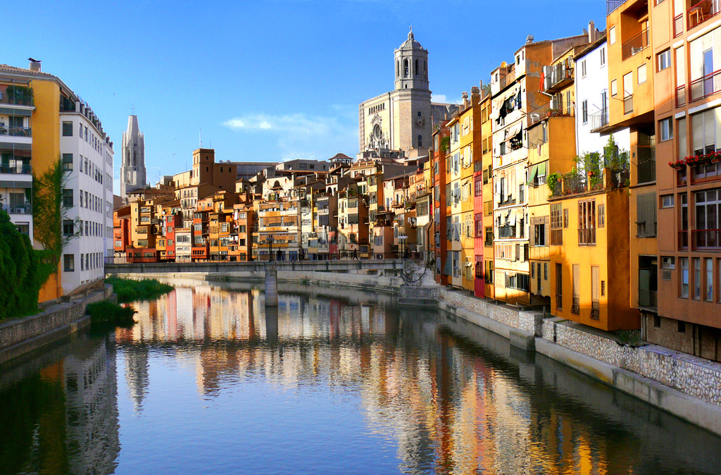 Center of Girona