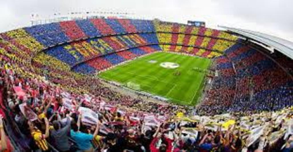 Barcelona. Camp Nou, football