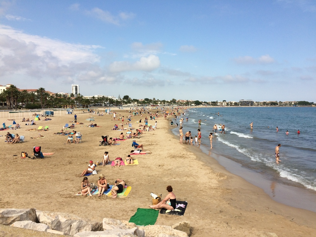 Cambrils' beach