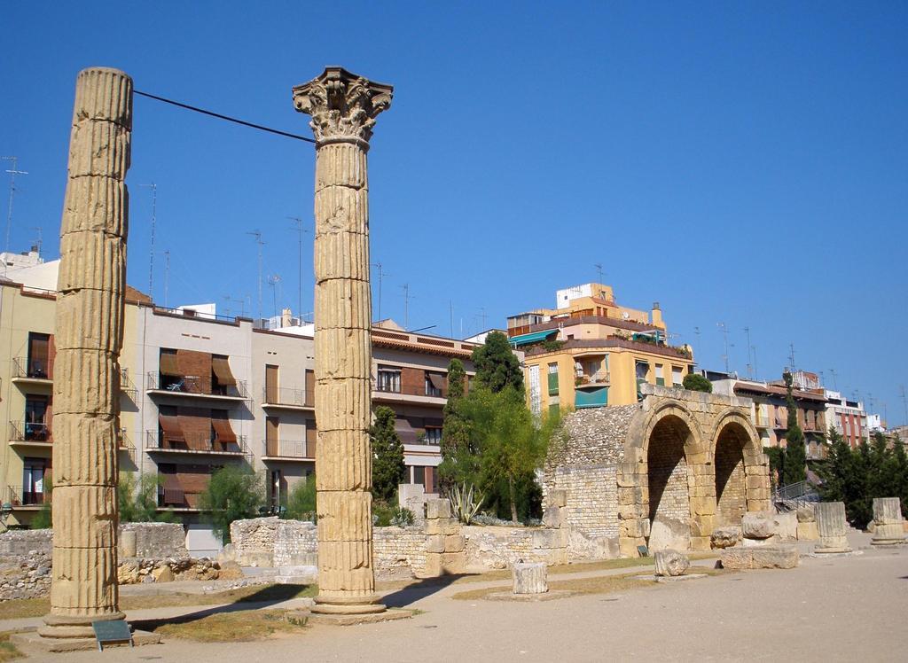 Tarragona's roman ruins