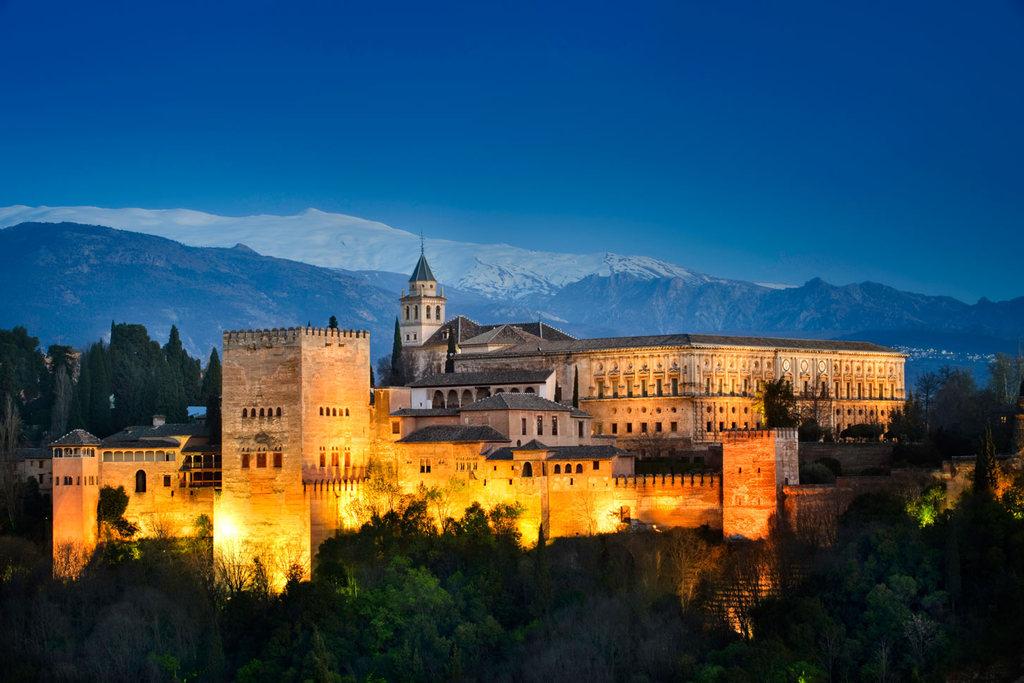 La Alhambra (Granada).
