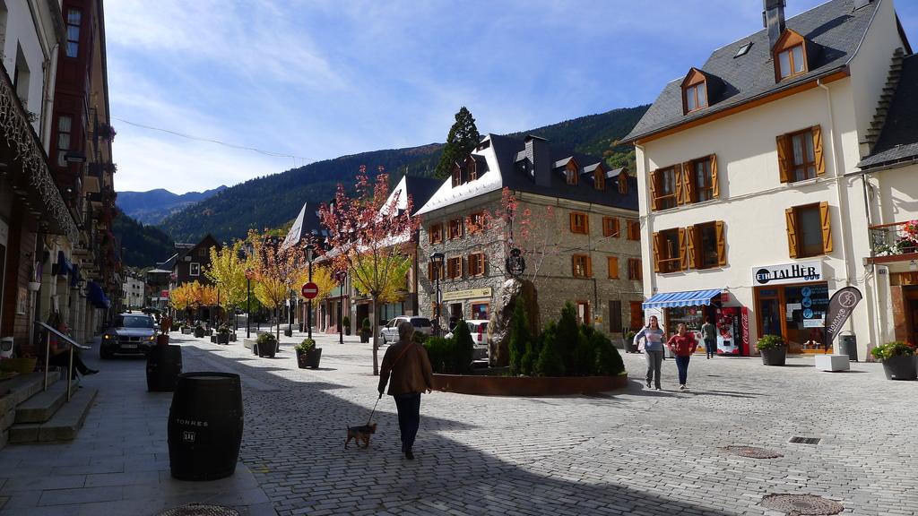 Vielha town center
