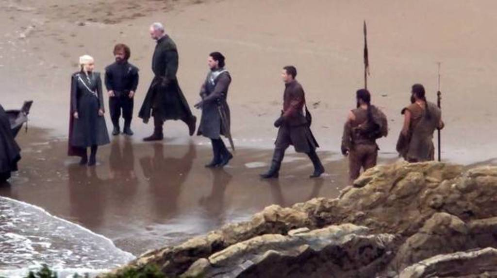 "filming ""Game of Thrones"" in Zumaia"