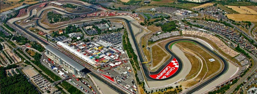 Barcelona Montmeló circuit - Formula 1, Moto GP and Endurance races. 30' car drive
