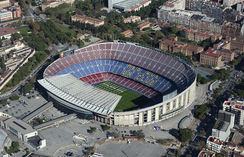 Barça Stadium (10 minutes away)