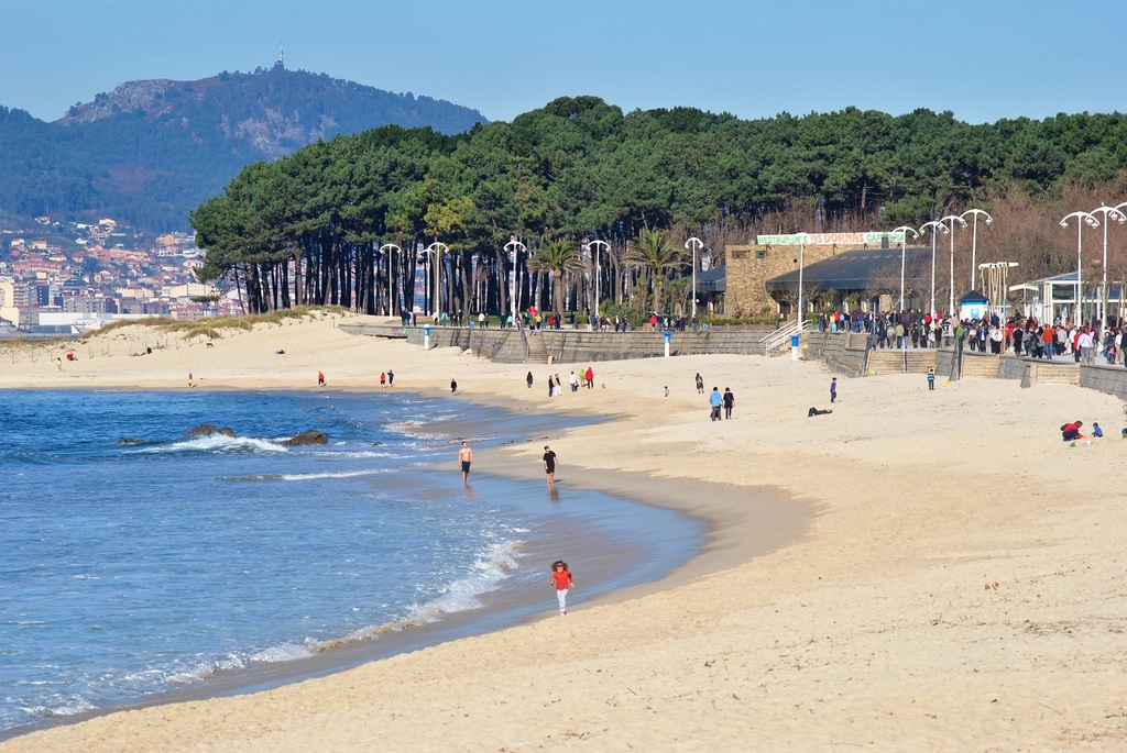 Samil beach. 10 minute drive from home