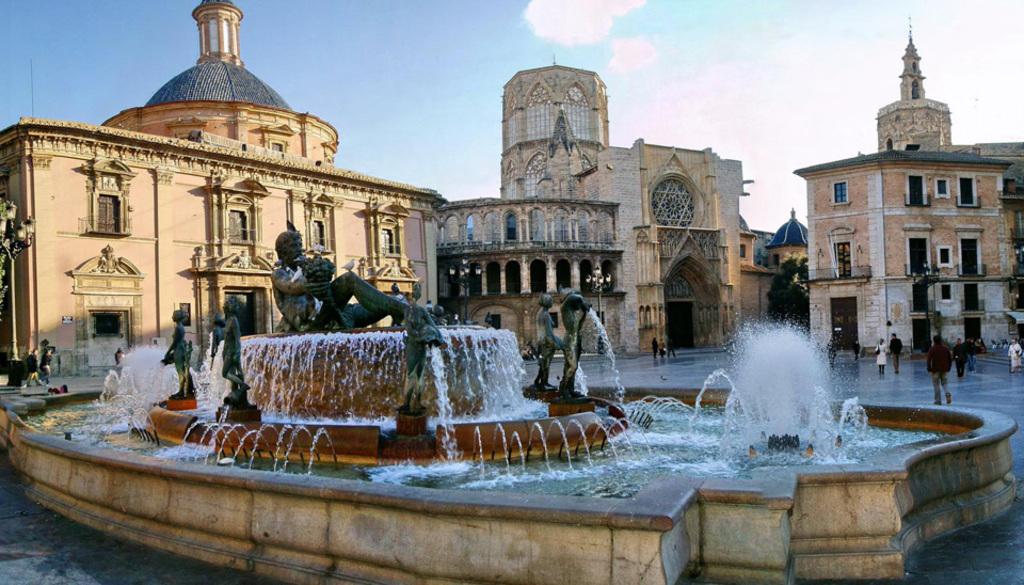 Valencia center town