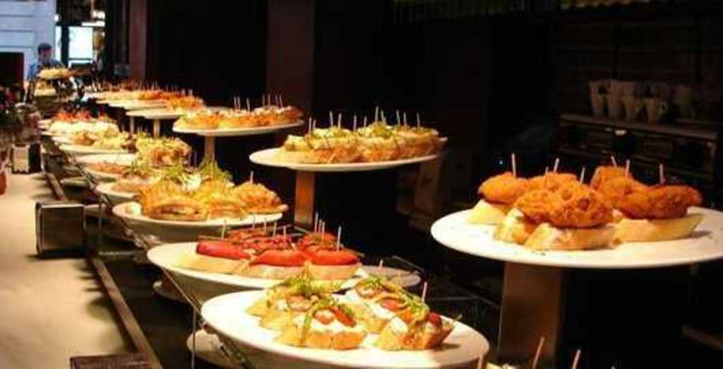typical pintxos