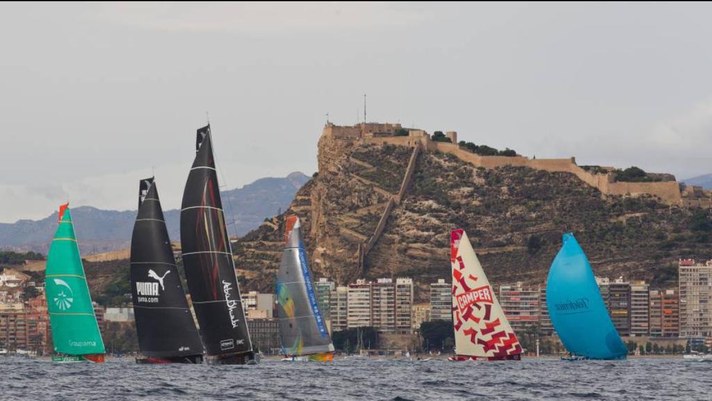 Regatas world champions in Alicante