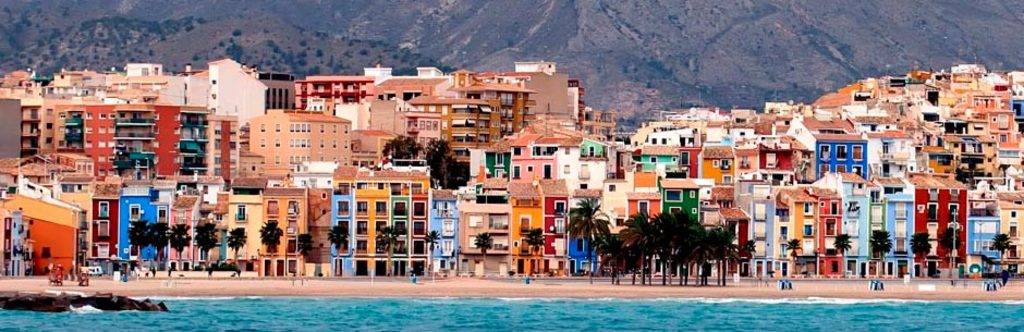 Villajoyosa located a 30 km from Alicante