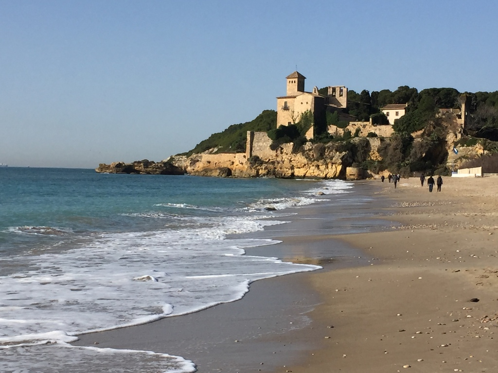 Tamarit castle (at the end of Altafulla's beach)