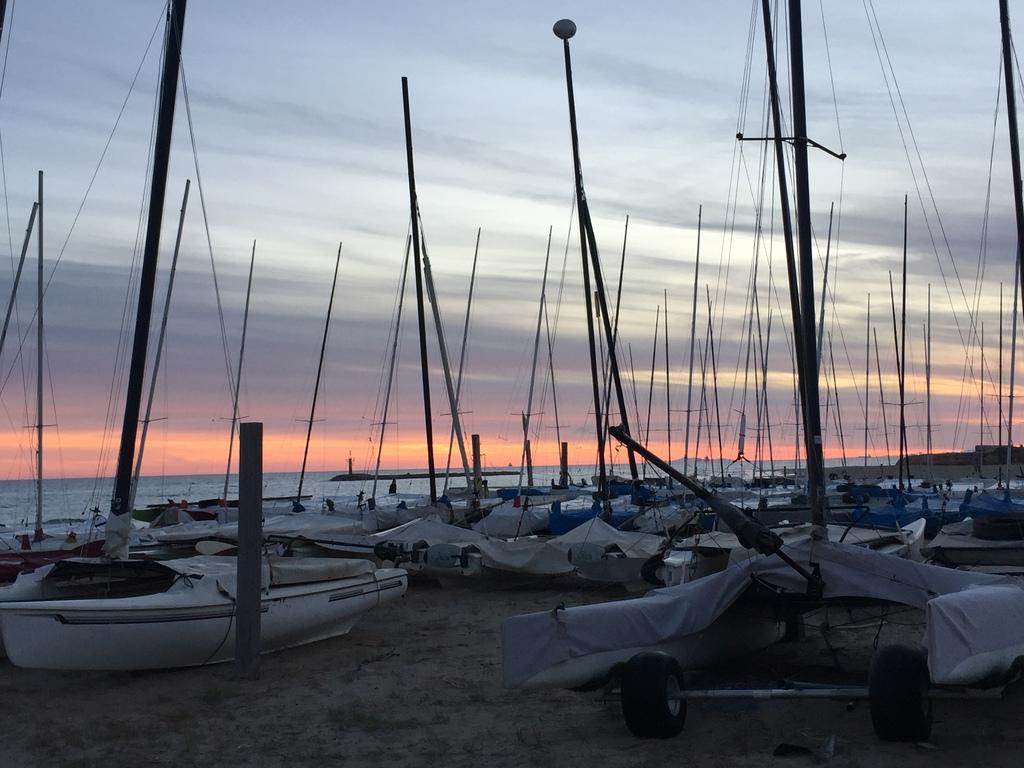 Sailing Club in Altafulla beach