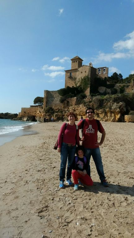 Tamarit at a walking distance (and our family)