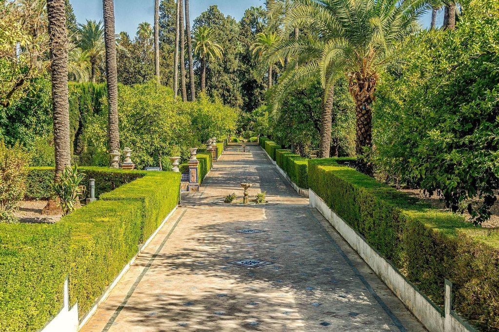 Real Alcázar de Sevilla, 20 min walk, 10 min in tramway