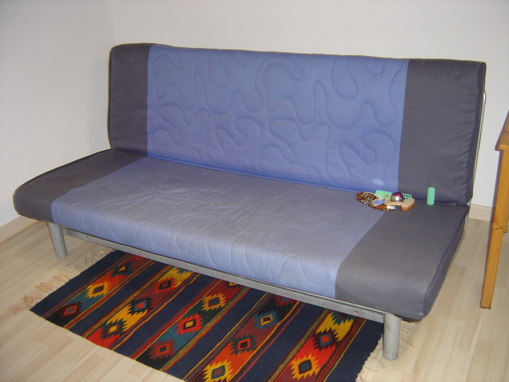 futon in loft