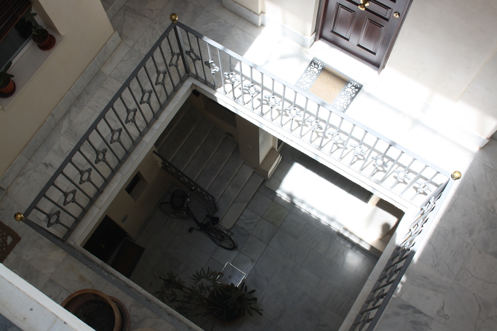 Access to the apartment by stairs and lift, we are 1st floor.