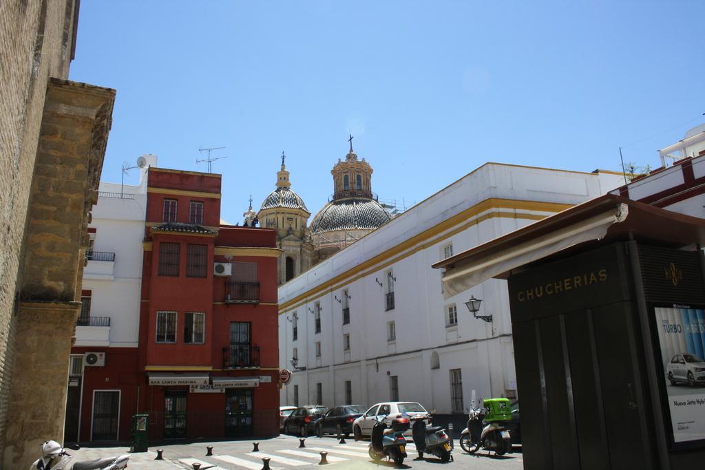 """San Luis"" church,  just by us"