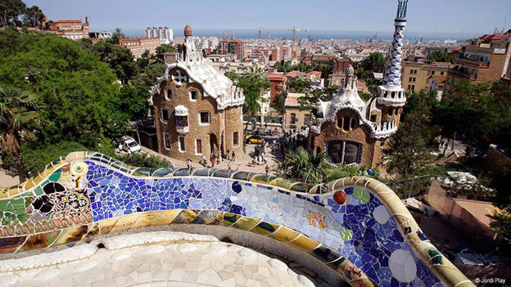 Park Güell, 1914. A. Gaudí