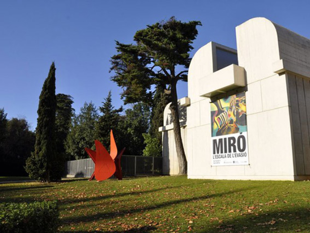 Museo Joan Miró. Architect J.L.Sert, 1975