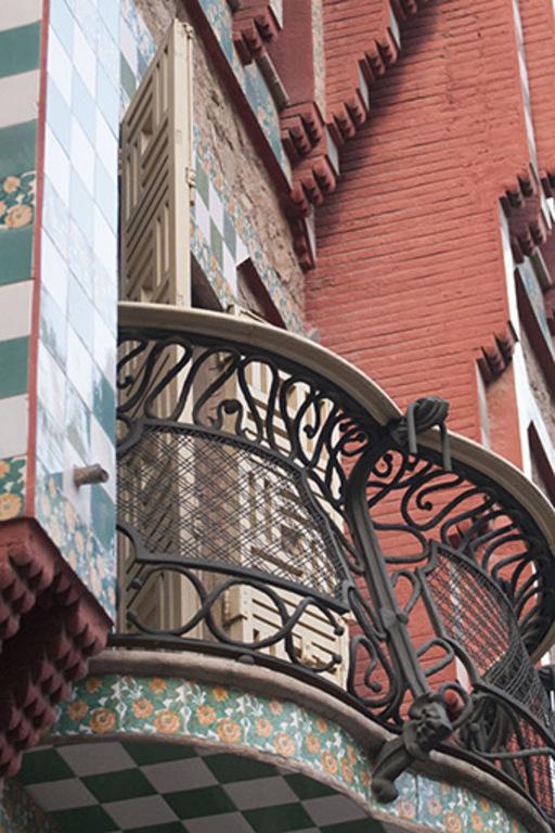 Casa Viçens, 1888. A. Gaudí