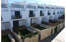 Vista general de las viviendas