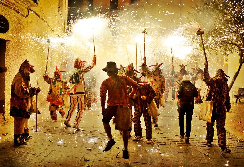 Devils fireworks culture