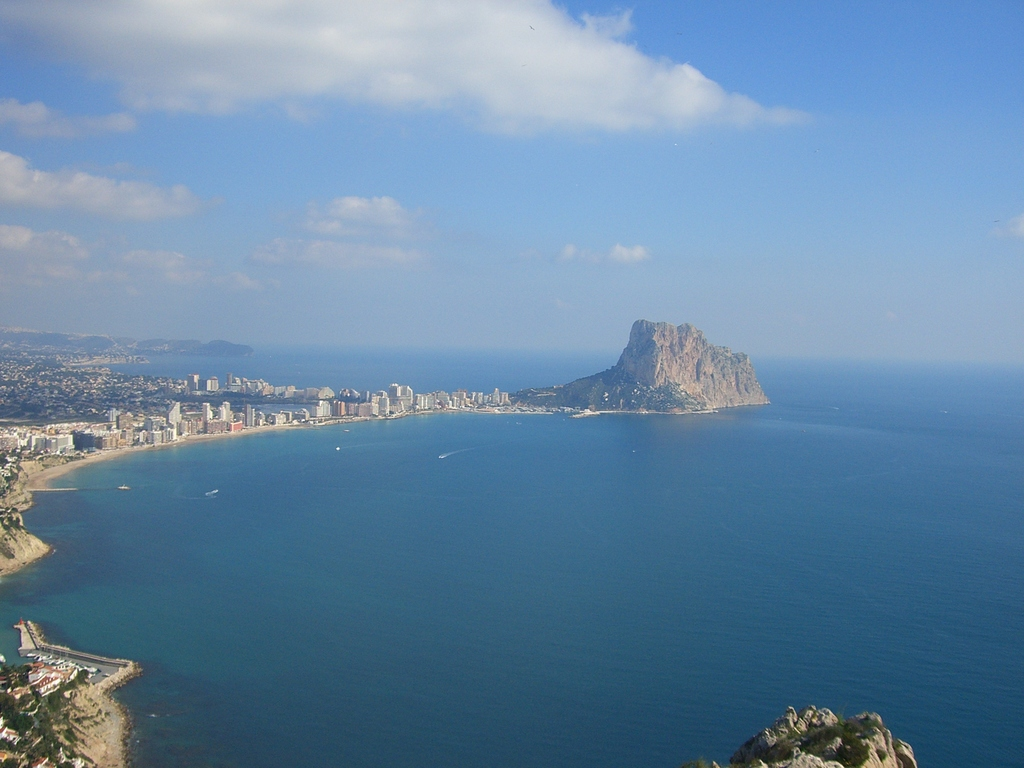 Calp and Altea, nice daytrip