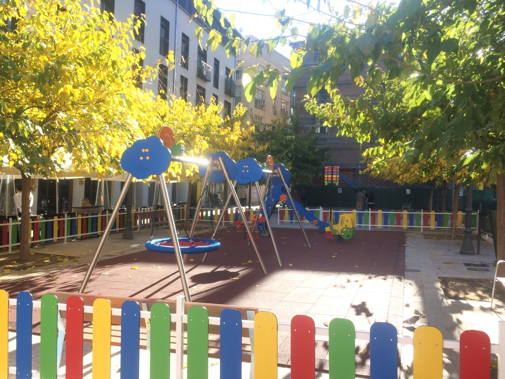 Playground just outside our building