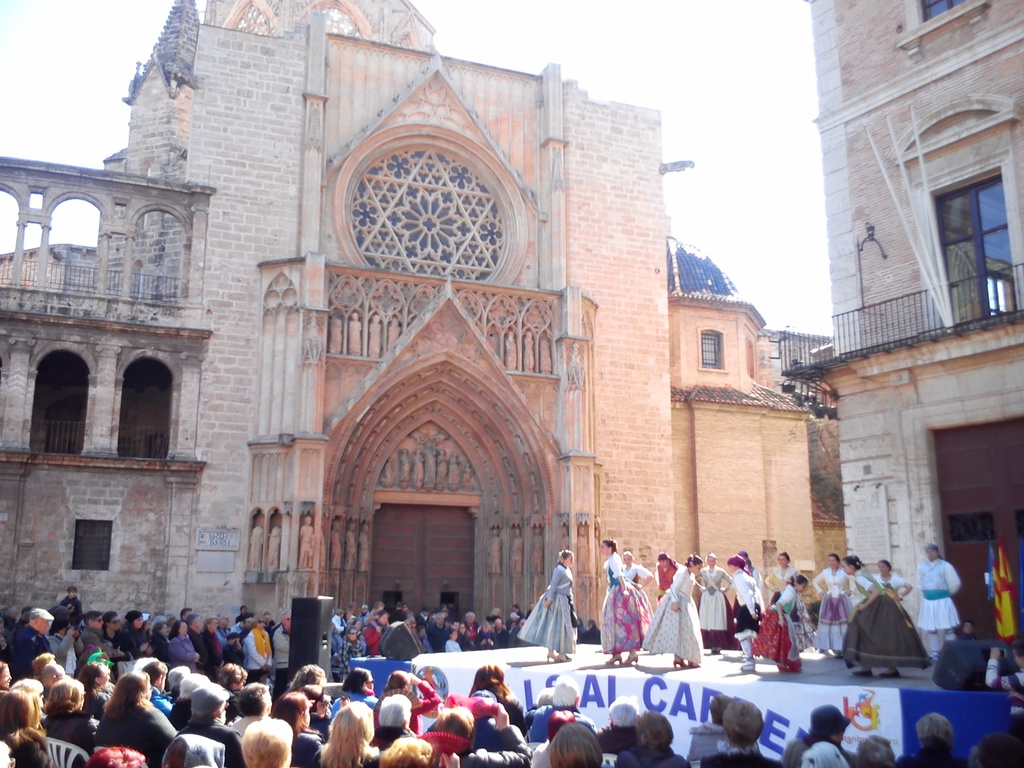 Dances outside the Cathedral