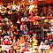 Christmas street market