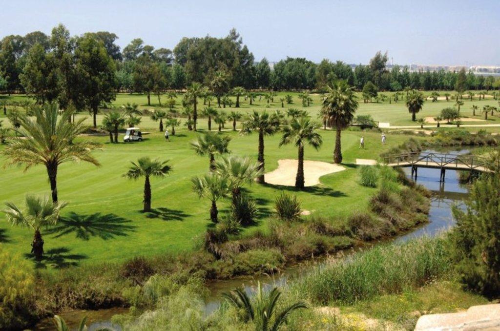 Club de Golf de Isla Canela cerca de nuestro apartamento.