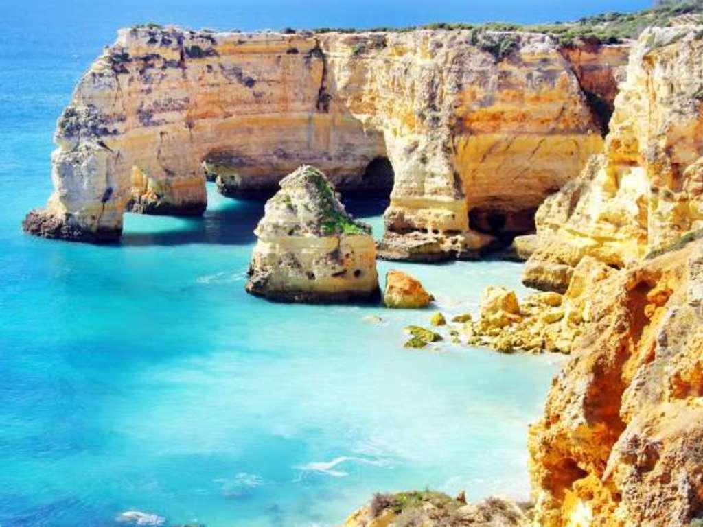 Playa del Algarve. Desde nuestro apartamento se puede hacer excursiones a las playas del Algarve.