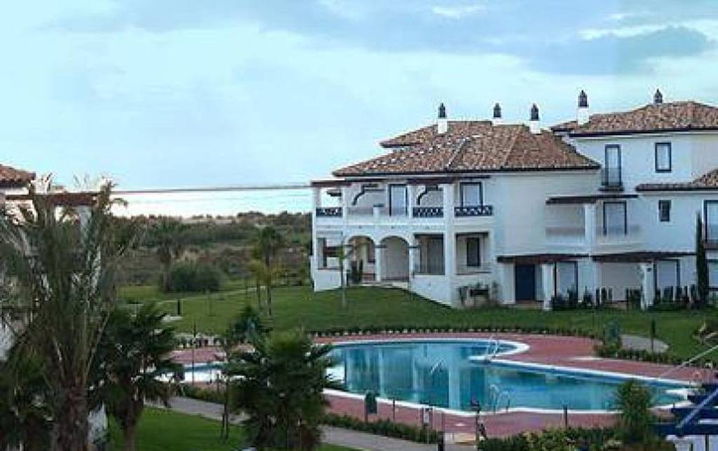 Urbanización San Bruno I de Isla Canela donde esta nuestro apartamento.