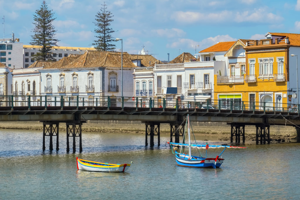 La ciudad portuguesa de Tavira a media hora de nuestra casa