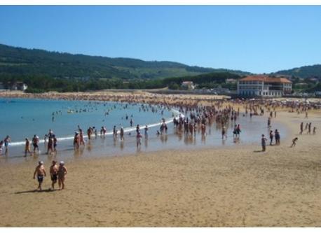 La playa de Gorliz