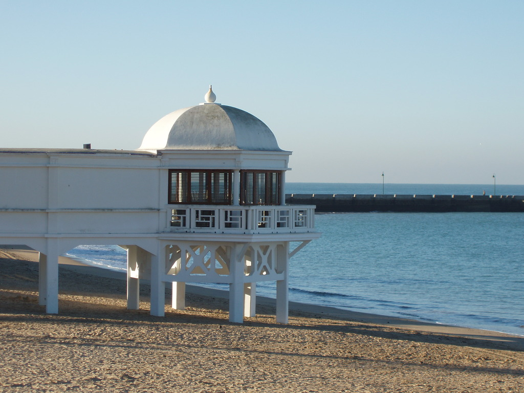 La Caleta Beach. Cádiz