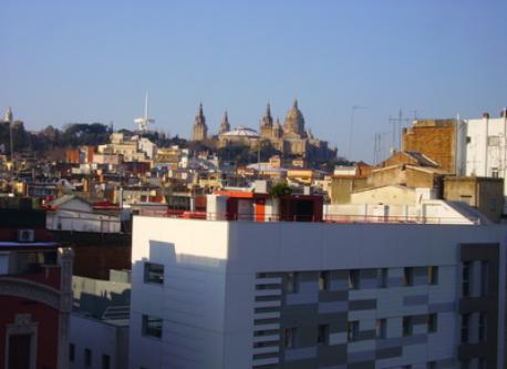 View from de balcony