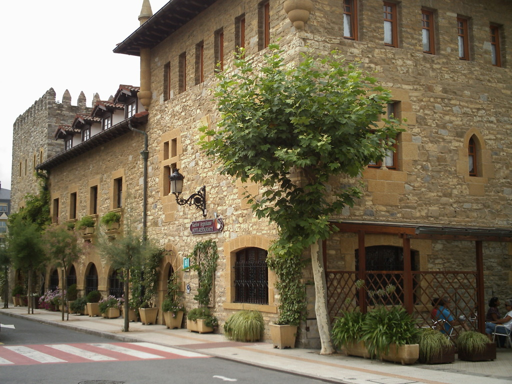 Chef Arguiñano's restaurant in Zarautz