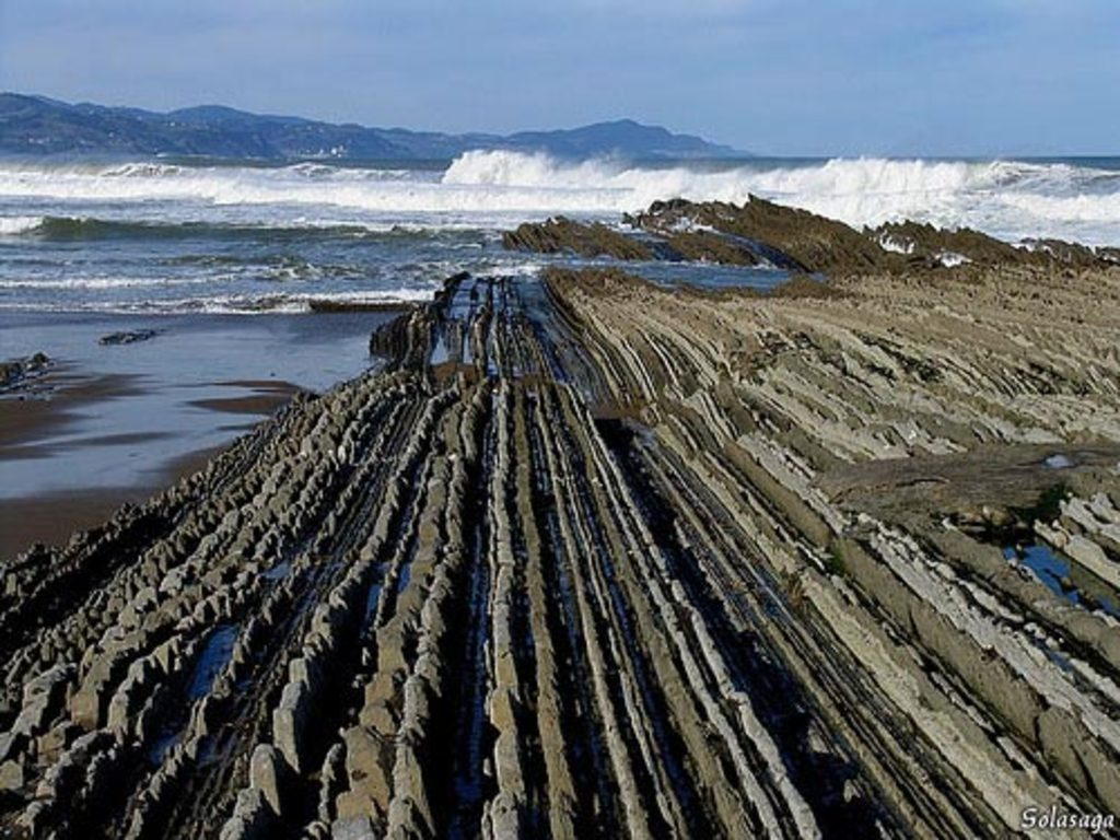The flysch in Zumaia (15 Km)