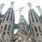 Detail outside Sagrada Família