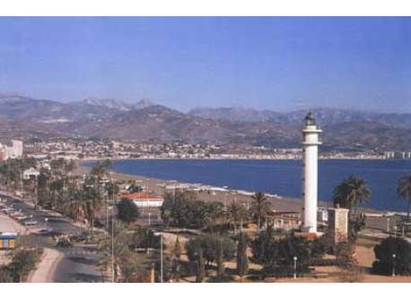 The principal photo and these ones are from Torre del Mar (only 4 km from our flat). You can go by car or bus.
