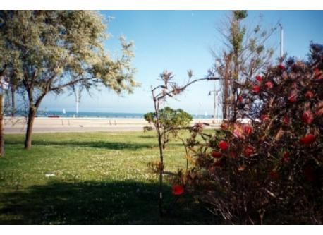Poblenou park and the beach (5' on foot)