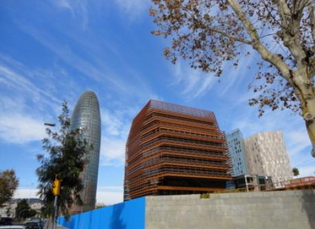 """the """"22@"""" area, very modern and interesting buildings (10 ' on foot)"""