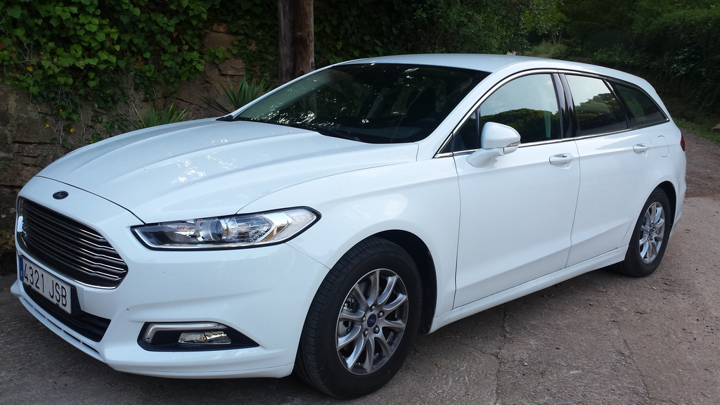 We have a new Ford Mondeo with a useful satnav