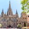 You can visit Santa Maria del Mar Cathedral and the Gothic quartier
